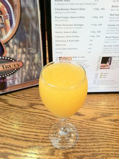 Enjoy a selection of spirits made with freshly squeezed juice at Yours Truly Restaurants!