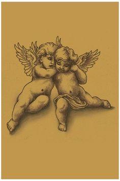 Cherub2 #cherub #angel #drawing #cherubangeldrawing An extra special design - created & tattooed on David Beckham. Cute Tattoos, Beautiful Tattoos, Body Art Tattoos, Tribal Tattoos, Small Tattoos, Cherub Tattoo Designs, Tattoo Sleeve Designs, Sleeve Tattoos, Ange Tattoo