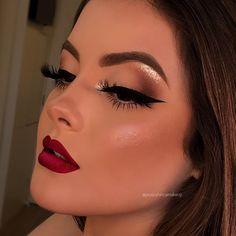eyeshadow palettes makeup tutorials makeup prom makeup tape for day makeup makeup wedding to make eyeshadow makeup eyeshadow makeup ideas Glam Makeup, New Year's Makeup, Skin Makeup, Makeup Inspo, Bridal Makeup, Eyeshadow Makeup, Wedding Makeup, Beauty Makeup, Makeup Goals