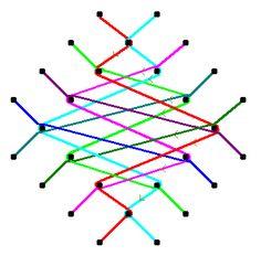 Trabajar una diagonal diamante Gravenmoer