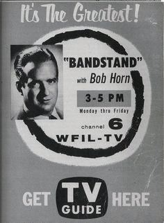 ORIGINAL BANDSTAND HOST BOB HORN