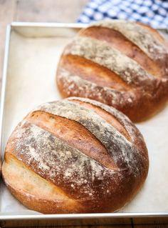 Grekiskt Lantbröd Serbian Recipes, Greek Recipes, Nuwave Oven Recipes, Country Bread, Good Food, Yummy Food, Second Breakfast, Piece Of Bread, Our Daily Bread