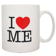 I Love Me Red Heart Mug By MugBug