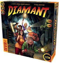 Diamant https://www.boardgamegeek.com/boardgame/15512/diamant
