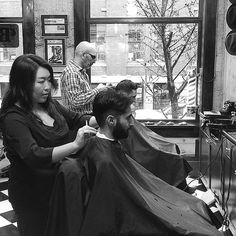 Another full day of non-stop haircuts and shaves at your neighbourhood barber shop, 7:30am to 7pm!  #barbers #barbershop #barberlife #lifeisgood #farzadsbarbershop #yaletownbarbers Read more at http://websta.me/n/barberboss#kmJEdhQ2FqapER6D.99 Shelley Salehi @loveyourbarber Instagram photos | Websta
