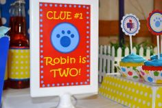 Blues Clues Party | CatchMyParty.com