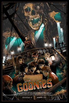 The goonies goonies never say die! in 2019 плакаты фильмов, кинотеа Film Movie, 80s Movies, Cult Movies, Iconic Movies, Great Movies, Horror Movies, Action Movies, Best Movie Posters, Movie Poster Art