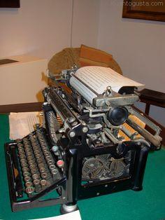 La máquina de escribir del Poeta Universal, Juan Ramón Jiménez, Moguer