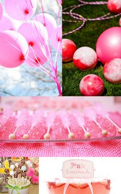inspiration board for princess party
