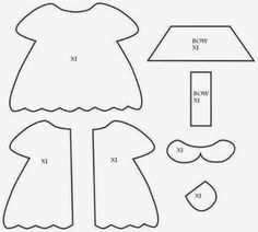 Image result for Girl Paper Doll Template 11X17 | for Cora ...