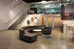 Kontour Lounge from Davis Furniture - McCrum's Office Furnishings Showroom Davis Furniture, Contract Furniture, Industrial Furniture, Showroom, How To Memorize Things, Lounge, Interiors, Spaces, Contemporary