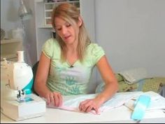 How to Sew a Baby Blanket : How to Miter Baby Blanket Binding Corners