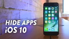 nice How To Hide Stock Apps In iOS 10! Check more at http://gadgetsnetworks.com/how-to-hide-stock-apps-in-ios-10/