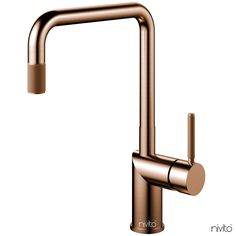 Nivito - Rhythm Industry Brushed Copper, Kitchen tap with ripped handle and nozzle Simple Interior, Nordic Interior, Minimalist Interior, Best Interior Design, Minimalist Decor, Luxury Interior, Interior Styling, Minimalist Bathroom, Home Luxury