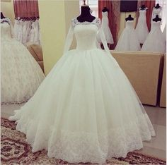 Celtic Wedding Dress Wonderful Design Muslim Wedding Dresses Long Sleeves Tulle Vintage Lace Ball Gown Modest Church Bridal Gowns 2016 Discount Bridal Gowns From Adminonline, $207.32| Dhgate.Com