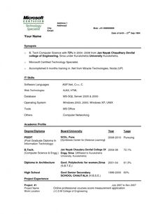 Best Resume Format For Software Engineers  Resume