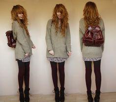 Como usar vestidos em dias frios