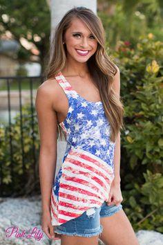 Celebrate America Tank CLEARANCE