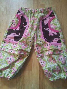 Crawling pants