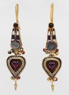 Greek earrings 200 BC