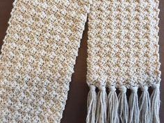 crochet scarf tutorial crochet rose bud scarf one row repeat easy and elegant Crochet Scarf Tutorial, Crochet Scarf For Beginners, Beginner Crochet Projects, Crochet Scarf Easy, Crochet Scarfs, Crochet Puff Flower, Crochet Flower Patterns, Crochet Designs, Crochet Flowers