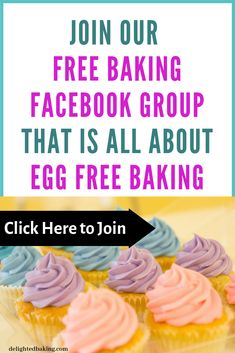 Eggless Baking For Beginners has 623 members. Interested in learning baking? Eggless Banana Muffins, Nutella Muffins, Peanut Butter Muffins, Chocolate Chip Muffins, Chocolate Chip Recipes, Cake Recipes For Beginners, Baking For Beginners, Easy Cake Recipes, Baking Recipes
