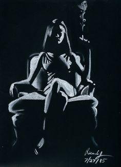 The Illustration Corner: Chiaroscuro Study #06