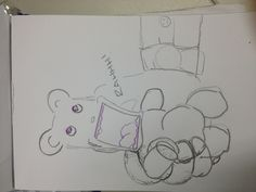 Angry teddy