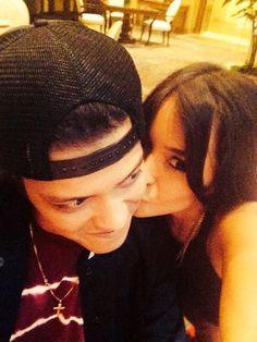 Bruno Mars and Jessica Caban ❤️