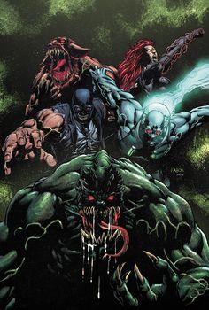 Forever Evil: Arkham War (of - Comics by comiXology Comic Book Covers, Comic Books Art, Book Art, Marvel Dc Comics, Anime Comics, Valiant Comics, Comic Art Community, Batman The Dark Knight, Batman Dark