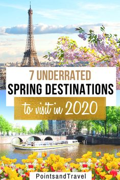 7 Underrated Spring Destinations to Visit in 2020. The Ultimate Spring Bucket List. These are the most gorgeous spring spots to see flowers in bloom. | Spring travel | Spring destinations | What to do in Spring | Where to go in Spring | Spring Destinations | Most Beautiful Spring Destinations | Where to travel this Spring |