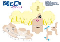 [Aporte] Papercraft Lady Gaga
