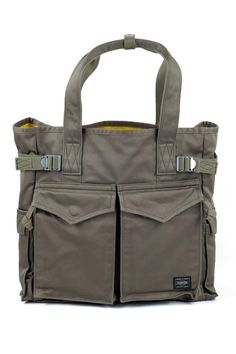 Blue Button Shop - Porter Peace Tote Bag - Olive - POR14NBAGUOLI102158