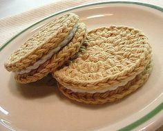 #galletas #ganchillo #crochet #cookies