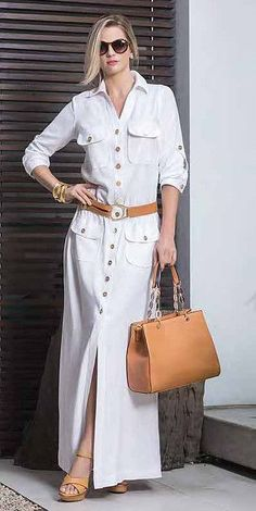 Fashion shirt dresses - Patterns and molds – Outfit Fashion - Best Fashion, Outfits & Trends Ideas Mode Abaya, Mode Hijab, Hijab Fashion, Fashion Dresses, Fashion Clothes, Shirt Dress Pattern, Beauty And Fashion, Party Looks, Casual Chic
