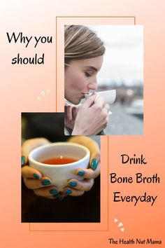One of the best things you can do for your health is drink Bone Broth. Especially if you have leaky gut, autoimmune diseases such as Hashimoto's, Rhuematoid Arthritis, allergies, food sensitivities, asthma etc... Bone Broth is one of the most nutrient-dense & healing foods you can consume. #bonebroth #leakygut #naturalremedies #health #healthydrink #autoimmunedisease #aip #aipdiet #paleo #hashimotos #thyroid #hypothyroid #rhuematoidarthritis #allergies #asthma #foodsensitivies… Natural Cures, Natural Healing, Drinking Bone Broth, Aip Diet, Thyroid Health, Leaky Gut, Autoimmune Disease, Asthma, Arthritis