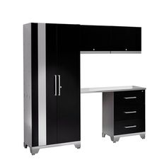 NewAge Performance 5 Piece Cabinet Set - Black  $924.09