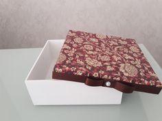 Caixa em MDF 16x16x6 cm para convite ou lembrancinha personalizada