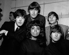 f6fca670 The Beatles with Motown artist Mary Wells. The Funk Brothers, Paul Mccartney,  Rock