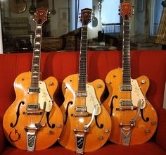 Gretsch Guitars - This Is The Article You Require About Learning Guitar Guitar Pics, Jazz Guitar, Guitar Strings, Cool Guitar, Acoustic Guitar, Guitar Art, Gretsch, Gibson Les Paul Tribute, Stray Cats
