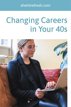 Ready for a much needed career change? Here is how women are changing their careers in their 40s- learn how to change yours with this advice! Online Jobs For Moms, Legit Online Jobs, Online Work, Moving To Germany, At Risk Youth, Falling Out Of Love, Getting Divorced, Quitting Your Job, Career Change