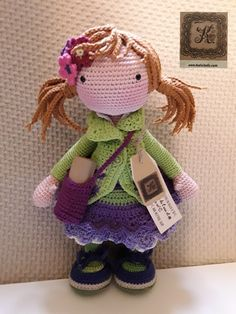 Irresistible Crochet a Doll Ideas. Radiant Crochet a Doll Ideas. Crochet Doll Clothes, Knitted Dolls, Crochet Dolls, Crochet Doll Pattern, Crochet Patterns Amigurumi, Amigurumi Doll, Easter Crochet, Crochet Crafts, Crochet Projects
