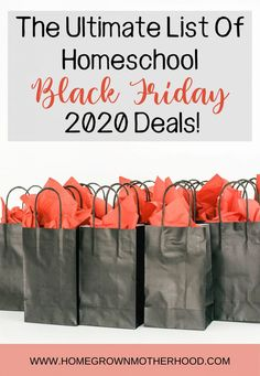 The Ultimate List of Homeschool Black Friday 2020 Deals | www.homegrownmotherhood.com | #blackfriday #blackfridaydeals #homeschooldeals #homeschoolcurriculum #homeschool Biblical Marriage, Math Facts, Homeschool Curriculum, Art School, Homemaking, Gift Guide, Hand Lettering, Black Friday, Online Business