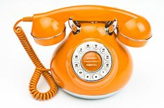 Old Orange phone..