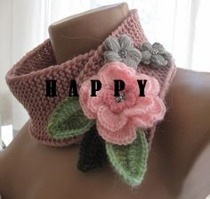 Knitted  rose pink color by selecta6 on Etsy, $35.00