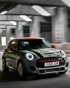 2019 Mini John Cooper Works The 2019 Mini John Cooper Works is a top-ranked midsize car. It has pleasing driving dynamics, good gas efficiency, and a great deal of know-how. Mini Cooper Stripes, Black Mini Cooper, Mini Cooper Custom, Mini John Cooper Works, Mini Cooper Sport, Mini Cooper Clubman, Mini Countryman, Cooper Car, My Dream Car