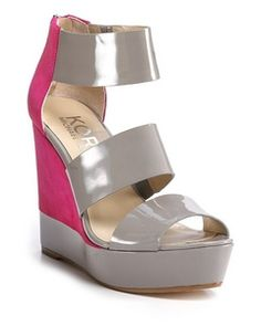 "I love this KORS Michael Kors ""Collie"" Platform Wedge Sandals (via Shop It To Me)"