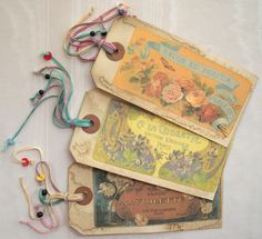 Vintage tags