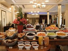 cold breakfast buffet ideas | Cape Grace Hotel in Cape Town, South Africa