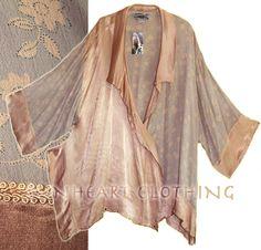 Tienda Ho: violet-cognac Haori Kimono Jacket